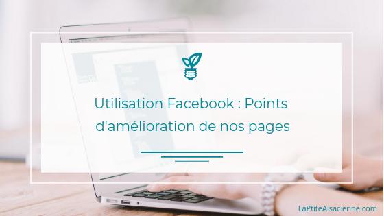 Utilisation des pages Facebook : Améliorer votre visibilité