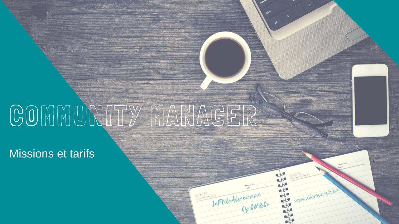 Missions et tarifs pour un community manager