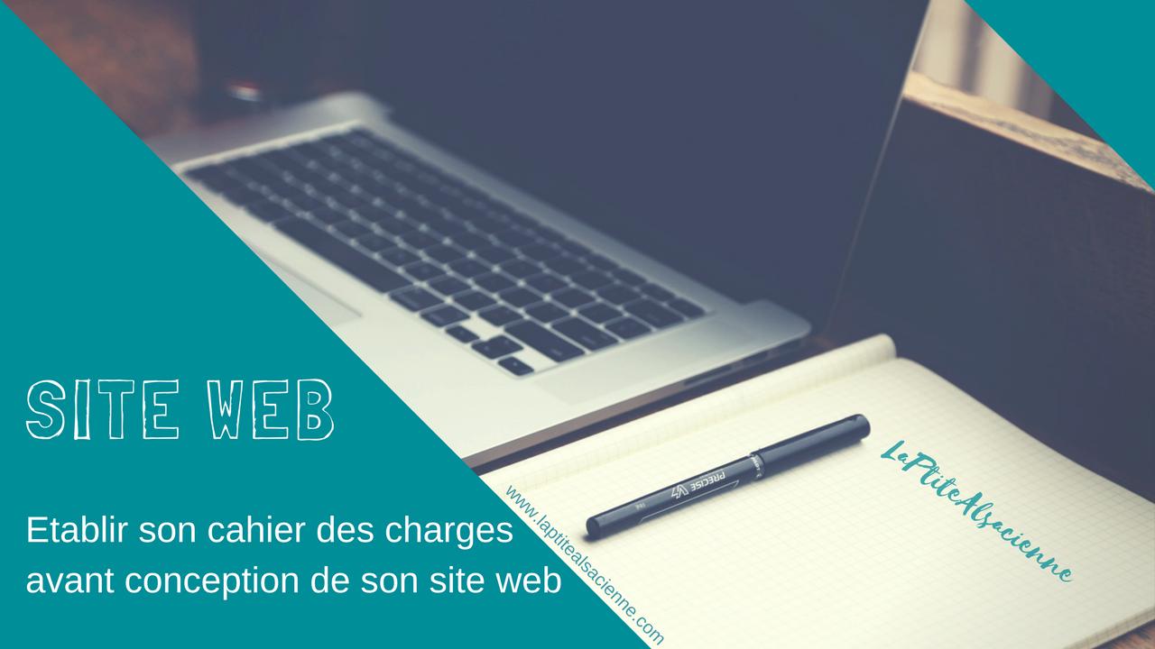 Elaborer son cahier des charges pour la réalisation de son site WEB