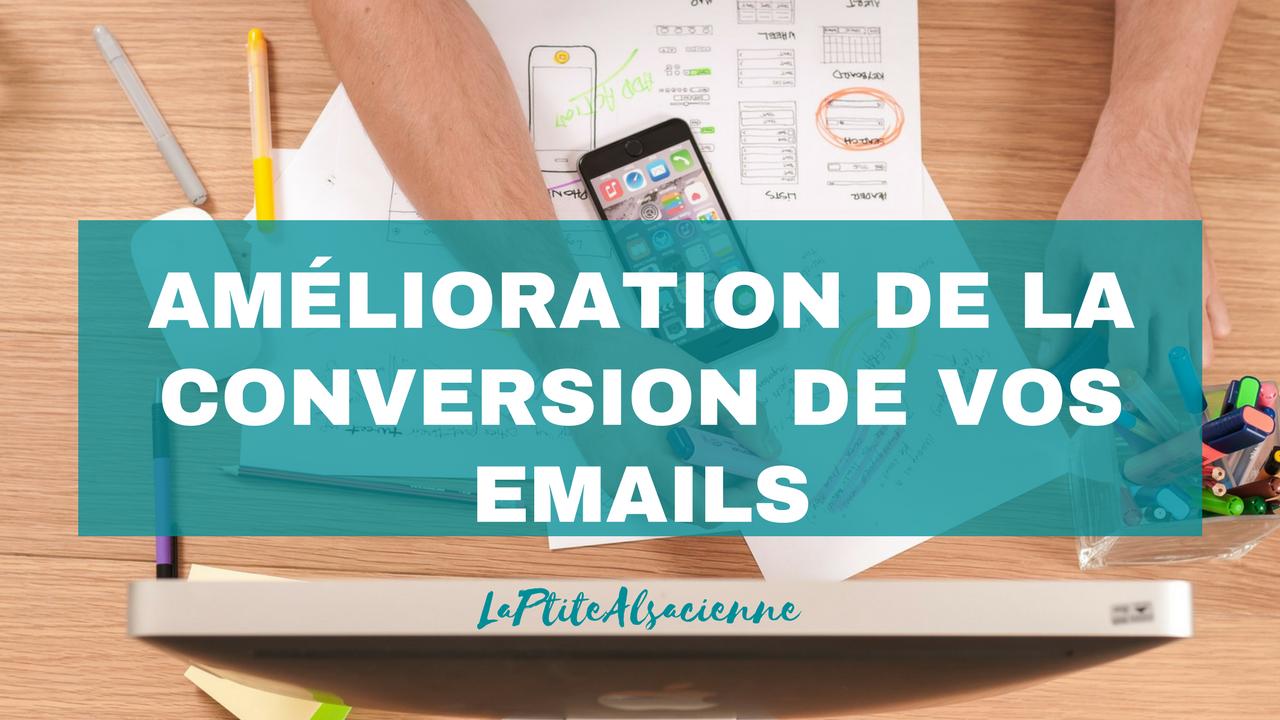 Amélioration de la conversion de vos emails