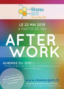 Afterwork réseau d'affaires GEM - Mulhouse @ Auberge du Zoo