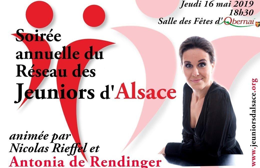Soirée annuelle du Réseau des Jeuniors d'Alsace – 2019
