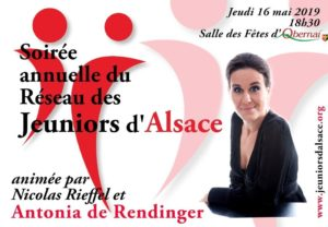 Soirée annuelle du Réseau des Jeuniors d'Alsace - 2019 @ Salle des fêtes | Obernai | Grand Est | France