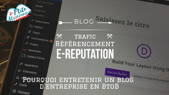 A quoi sert un blog professionnel sur un site BtoB ?