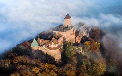De la vie au château du Haut-Koenigsbourg !