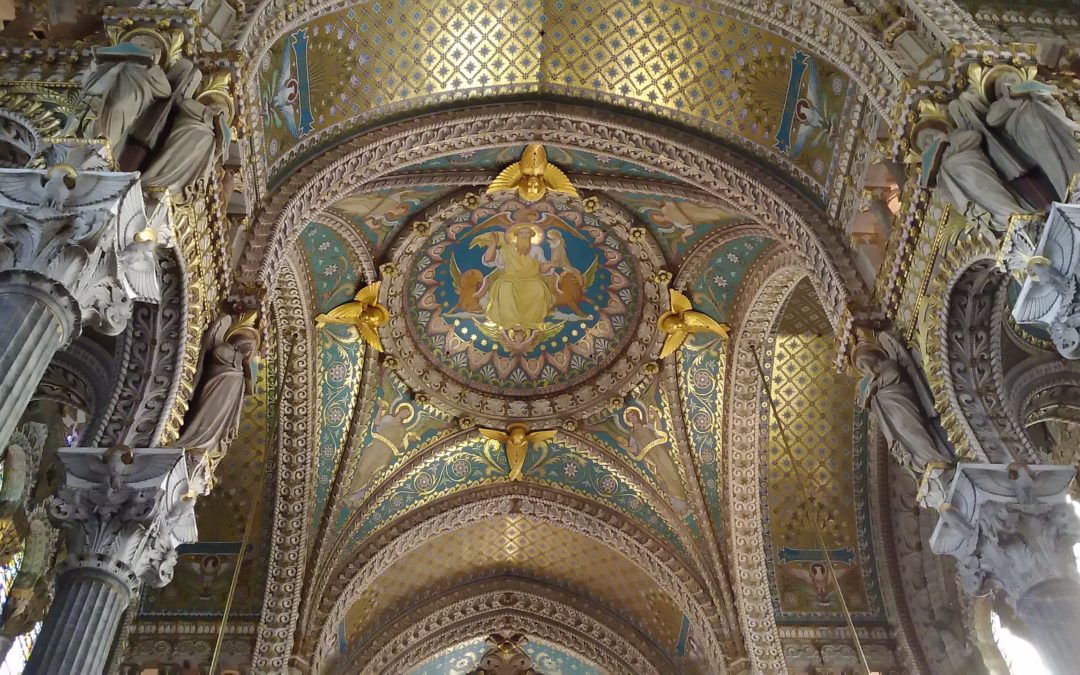 Notre Dame de Fourvière Lyon Photo by Cendrine Miesch LaPtiteAlsacienne