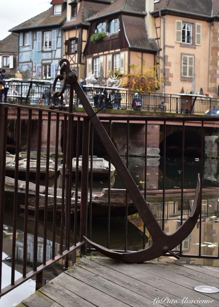 l'ancre quai de la poissonnerie à Colmar
