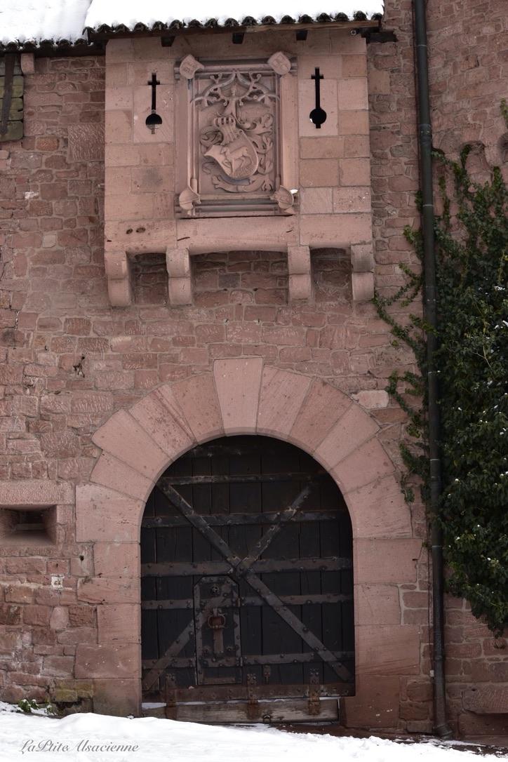 L'entrée principale du Château du Haut-Koenigsbourg - Photo de Cendrine Miesch dite LaPtiteAlsacienne