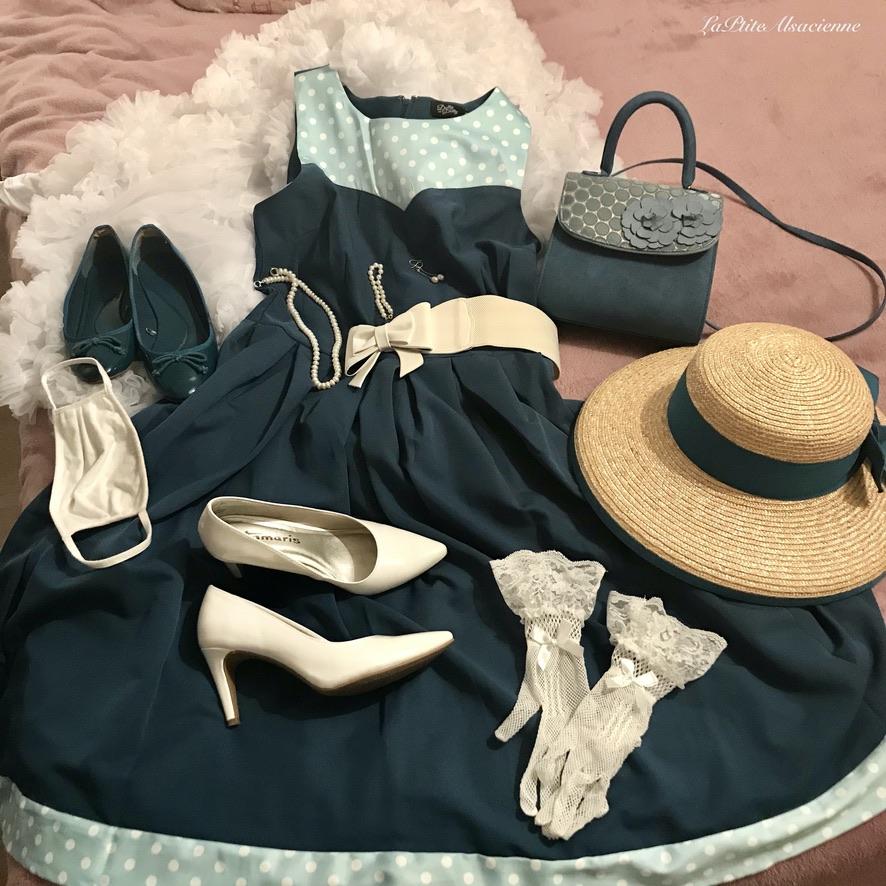 Se préparer avec la tenue complète. Photo by LaPtiteAlsacienne - Cendrine Miesch