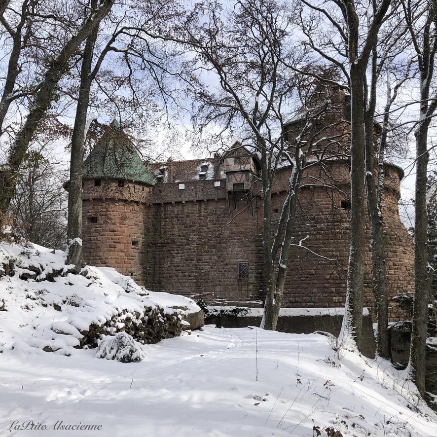 A l'autre bout du château du Haut-Koenigsbourg - Photo by Cendrine Miesch LaPtiteAlsacienne