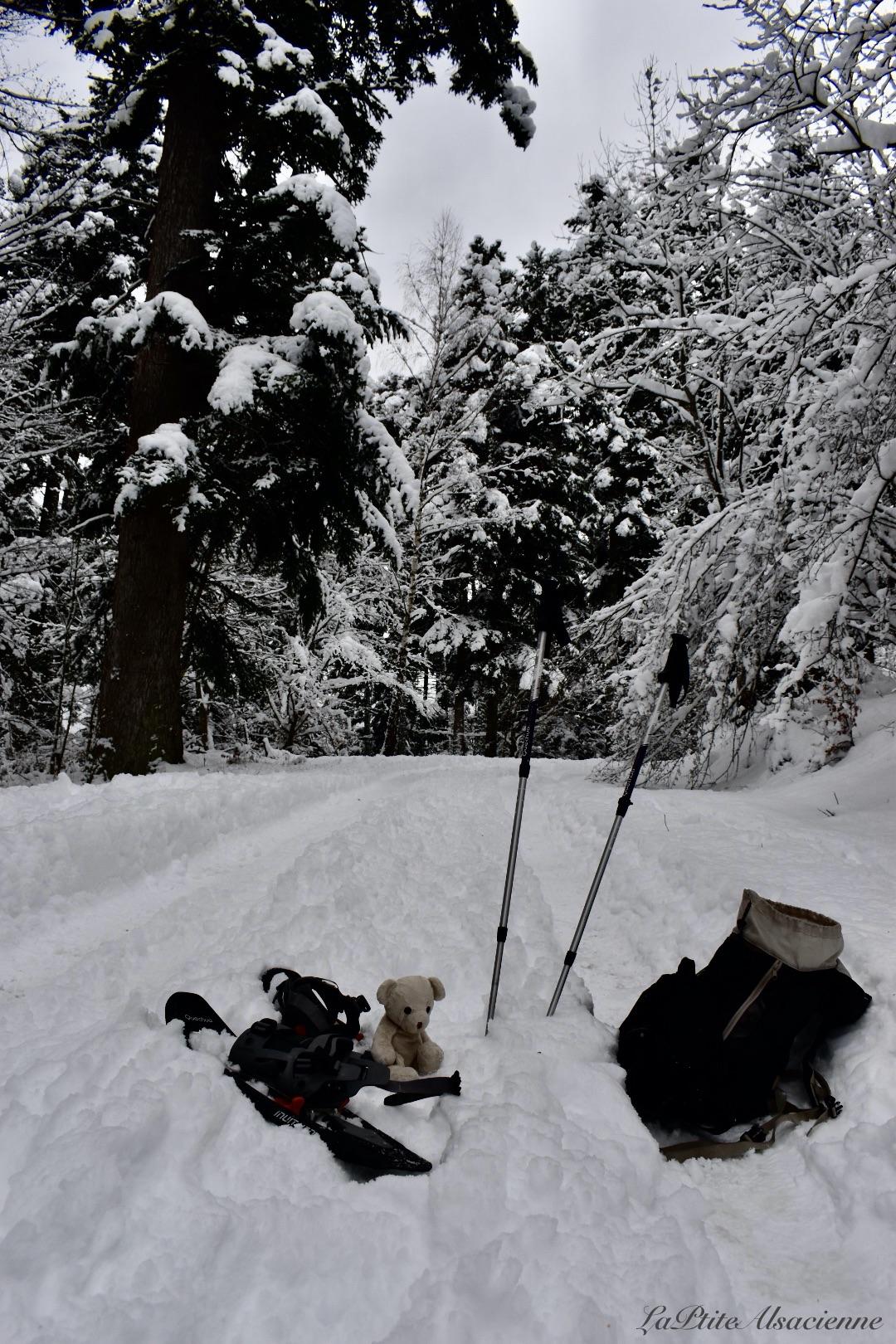 Quel matériel pour randonner en hiver en Alsace ? - Photo by Cendrine Miesch dite LaPtiteAlsacienne
