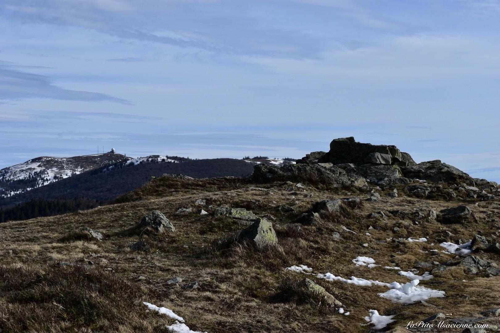 Randonnée du Markstein vers le Grand Ballon, sur les sommets. Photo by LaPtiteAlsacienne - 16 février 2021