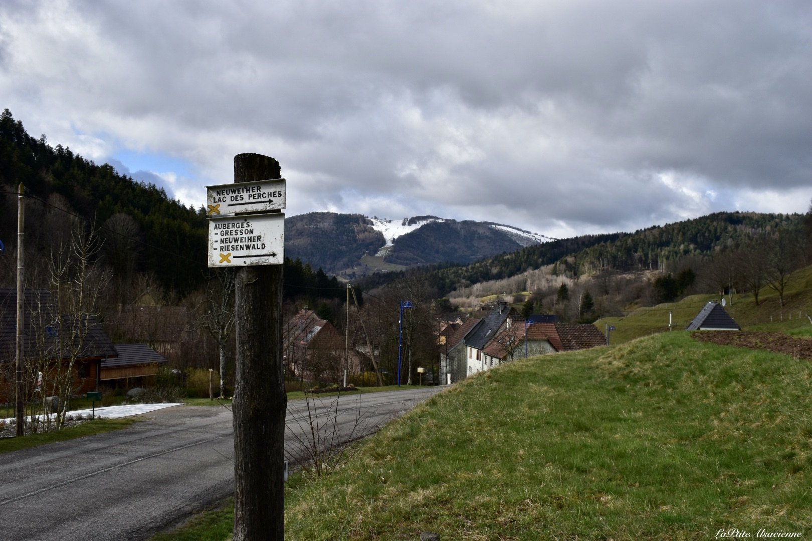 Départ randonnée Lac des Perches à Rimbach-Près-Masevaux