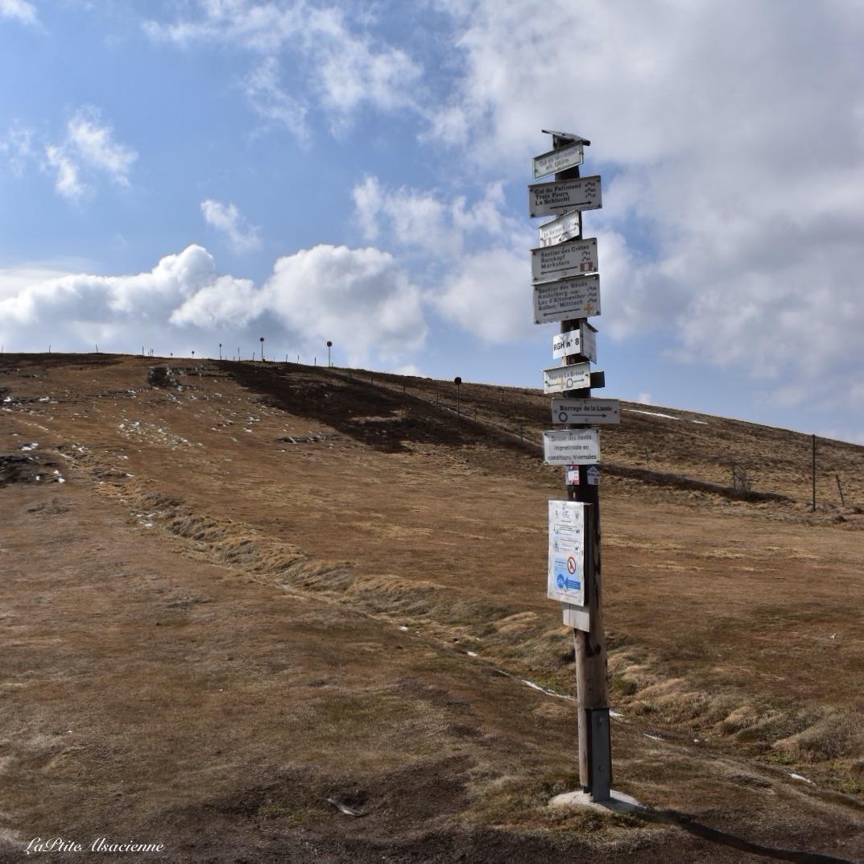 Col du Wormspel alt 1280m - Sous le Hohneck