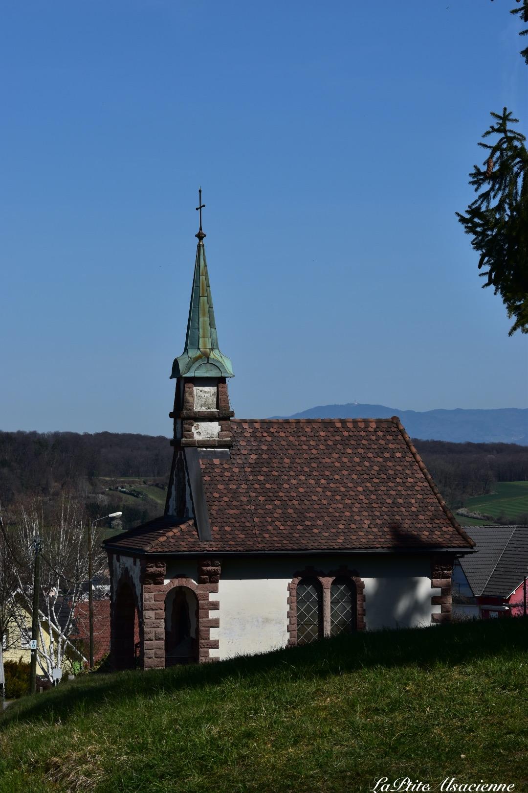 Chapelle des âmes du purgatoire - Sundgau - Leymen - Alsace France