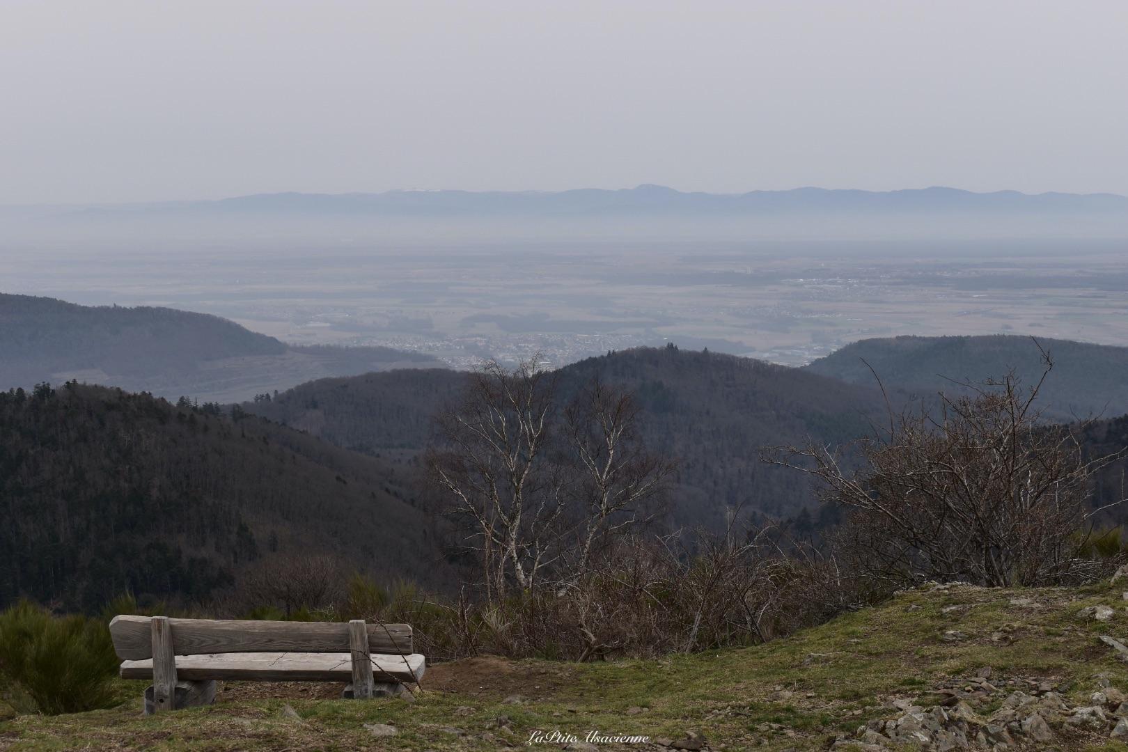 Ebeck et sa vue sur plaine alsace