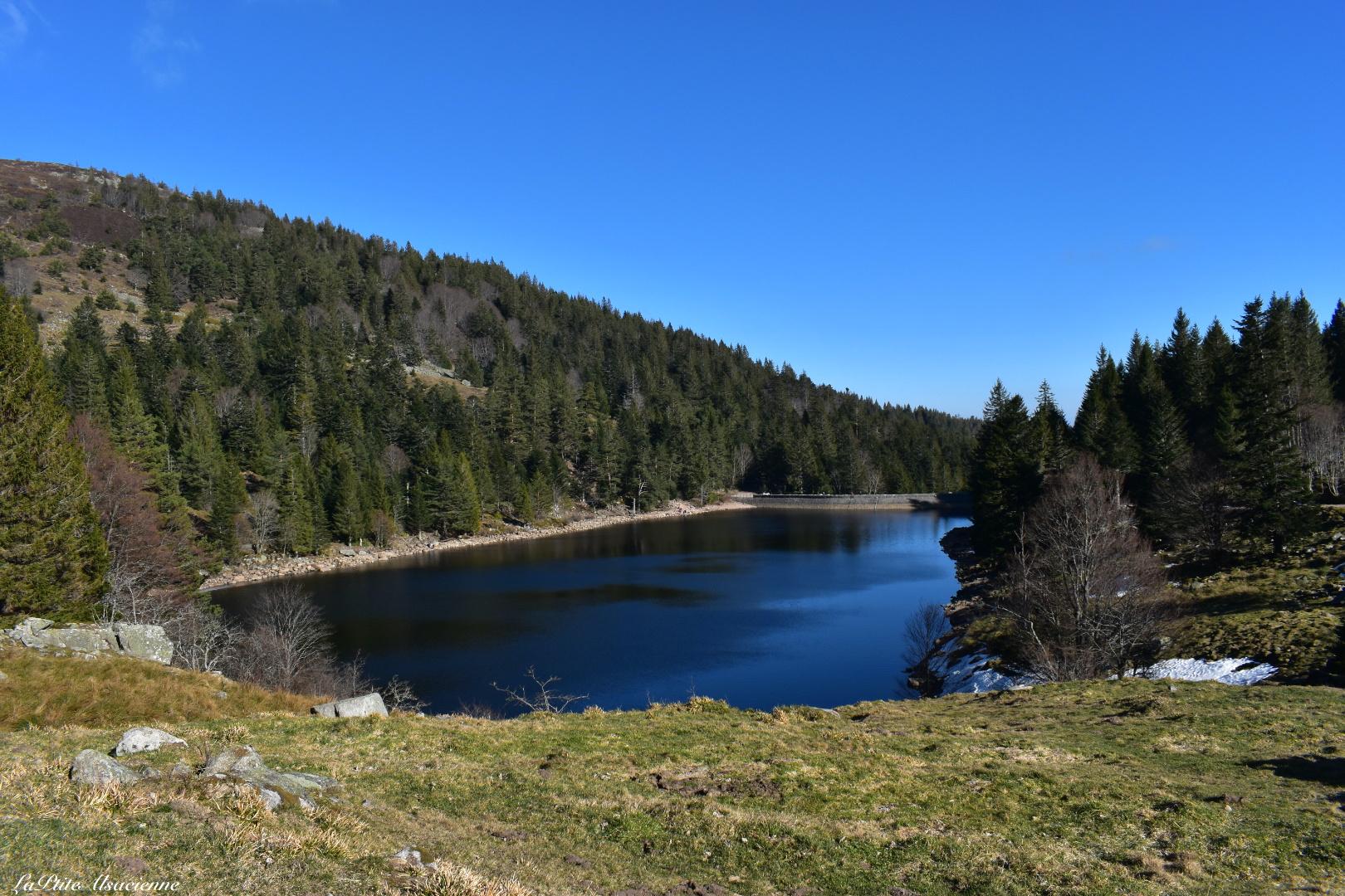 Lac du Forlet, vue depuis l'auberge
