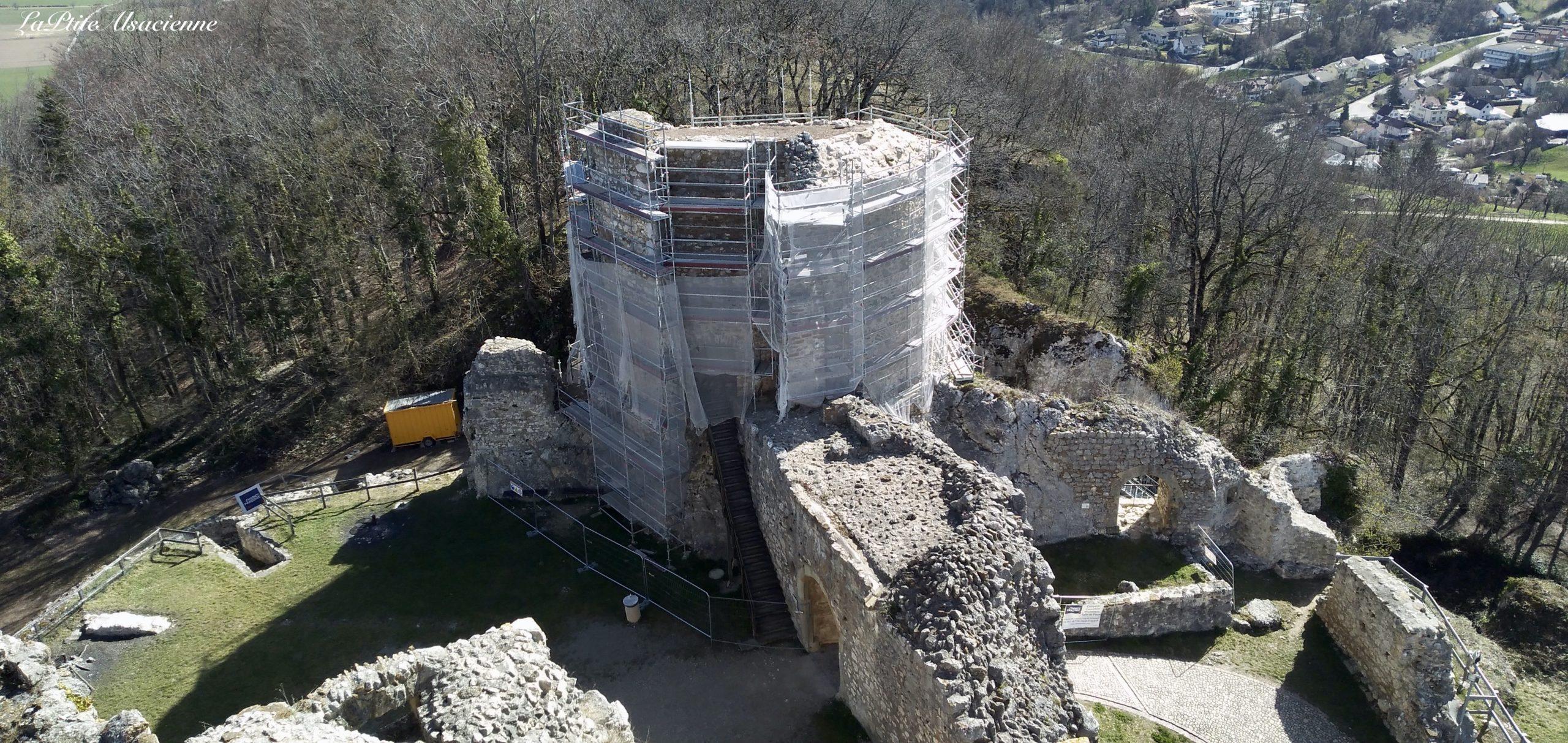 Rénovation de la Poudrière du Château de Landskron
