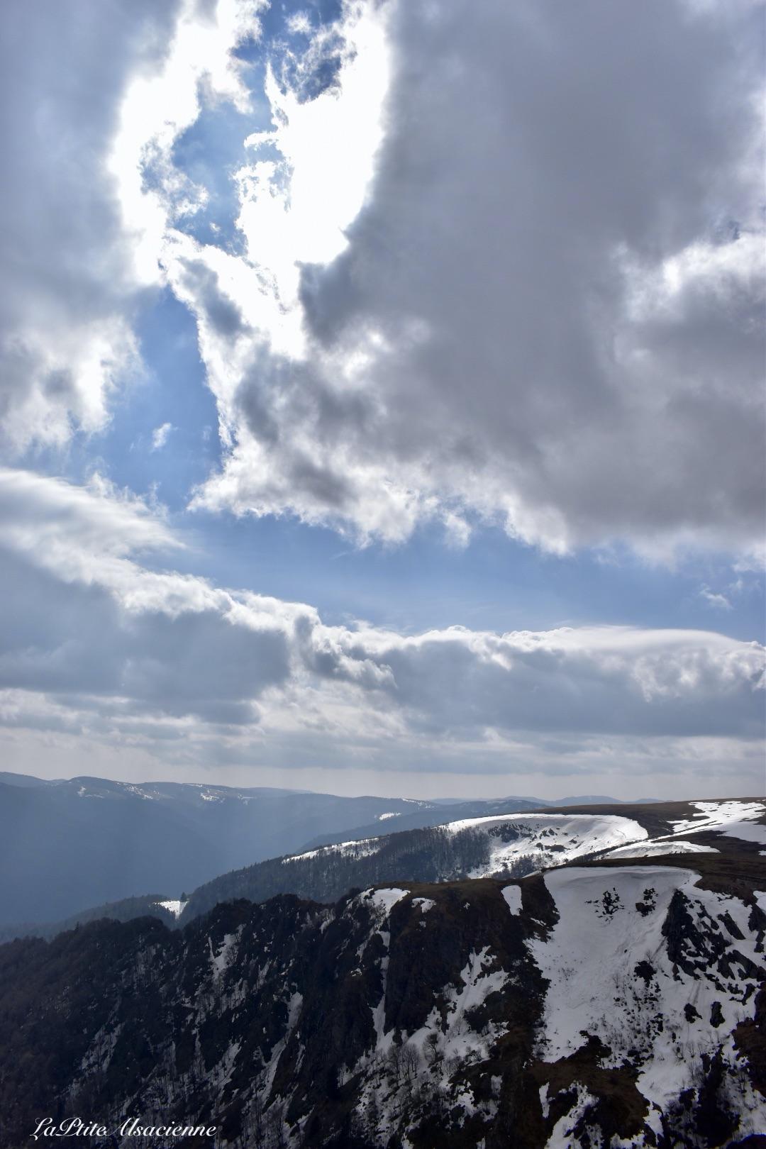 Vue sur les Vosges depuis le Hohneck - Cendrine Miesch dite LaPtiteAlsacienne