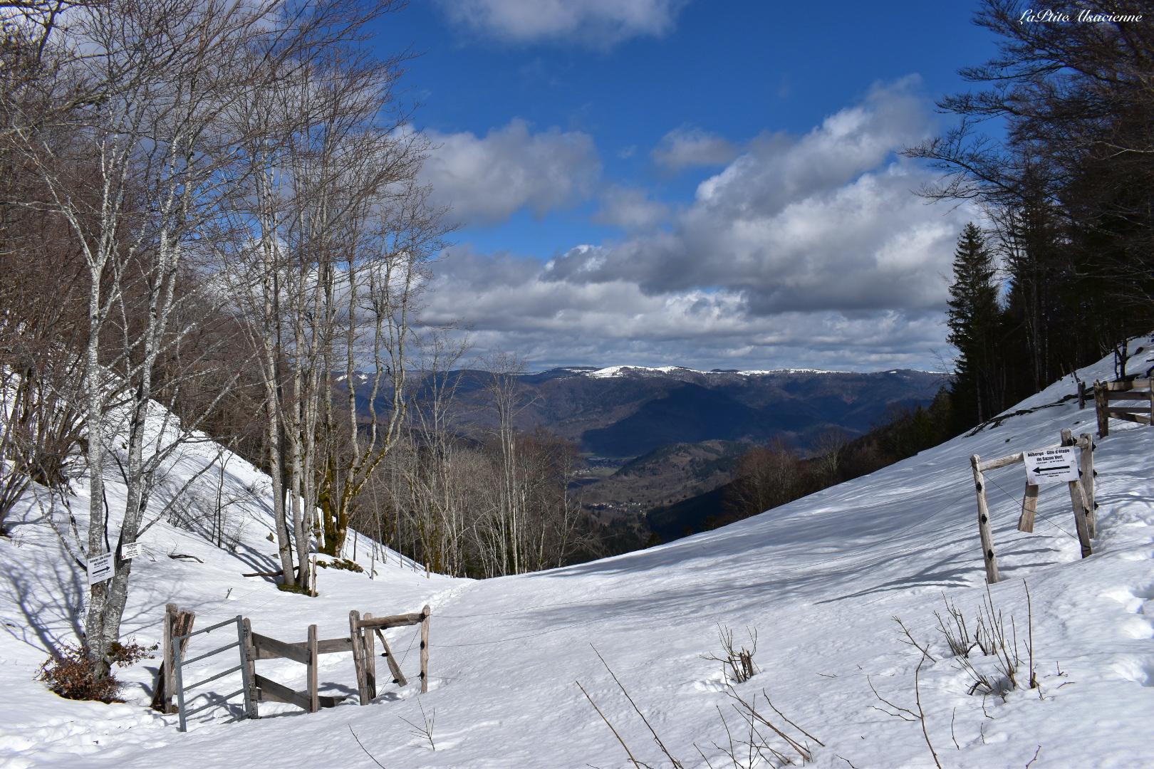 Col des Perches sous la neige