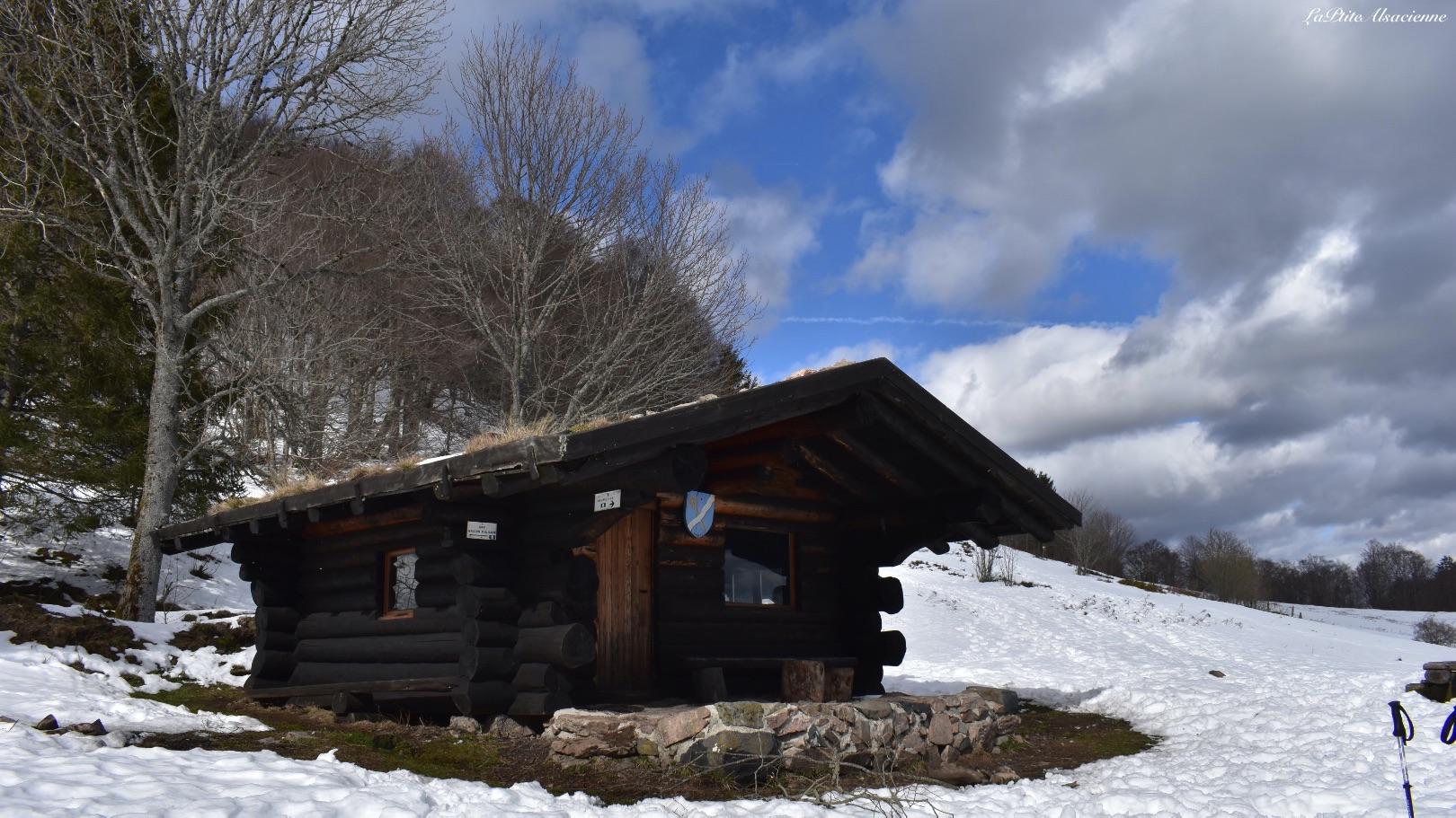 Le Hohneck et son hôtel du sommet - Photo par Cendrine Miesch dite LaPtiteAlsacienne
