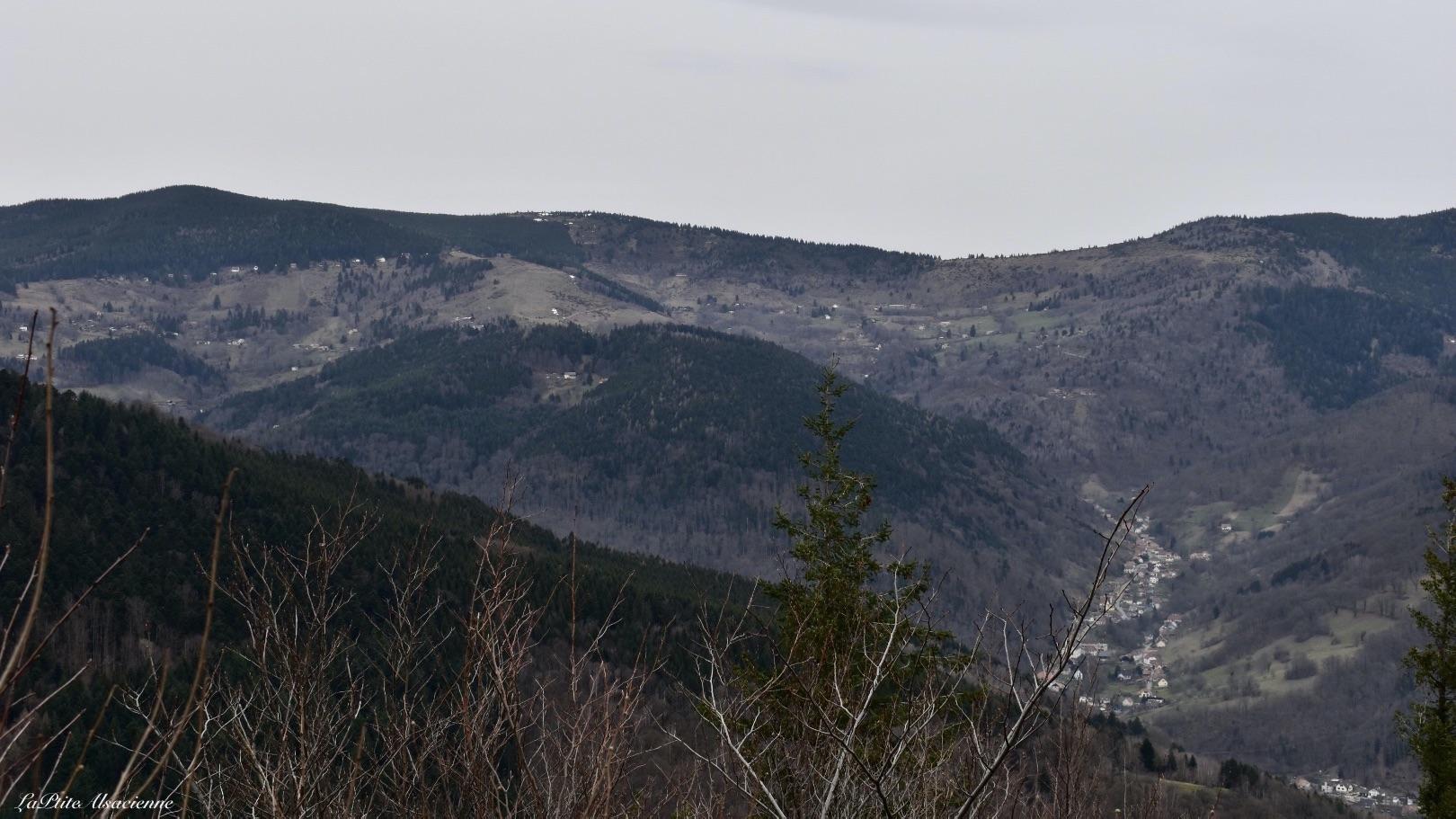 ruine hohrupf vue sur linthal