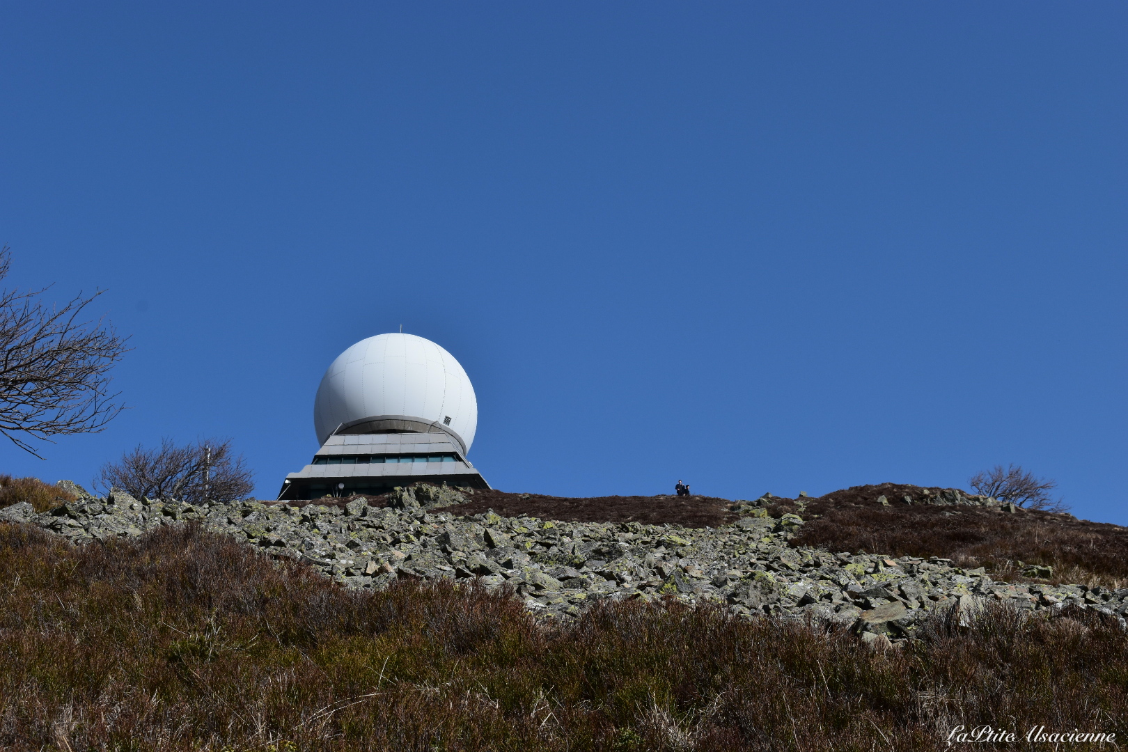 radar du grand ballon - Photo par Cendrine Miesch dite LaPtiteAlsacienne
