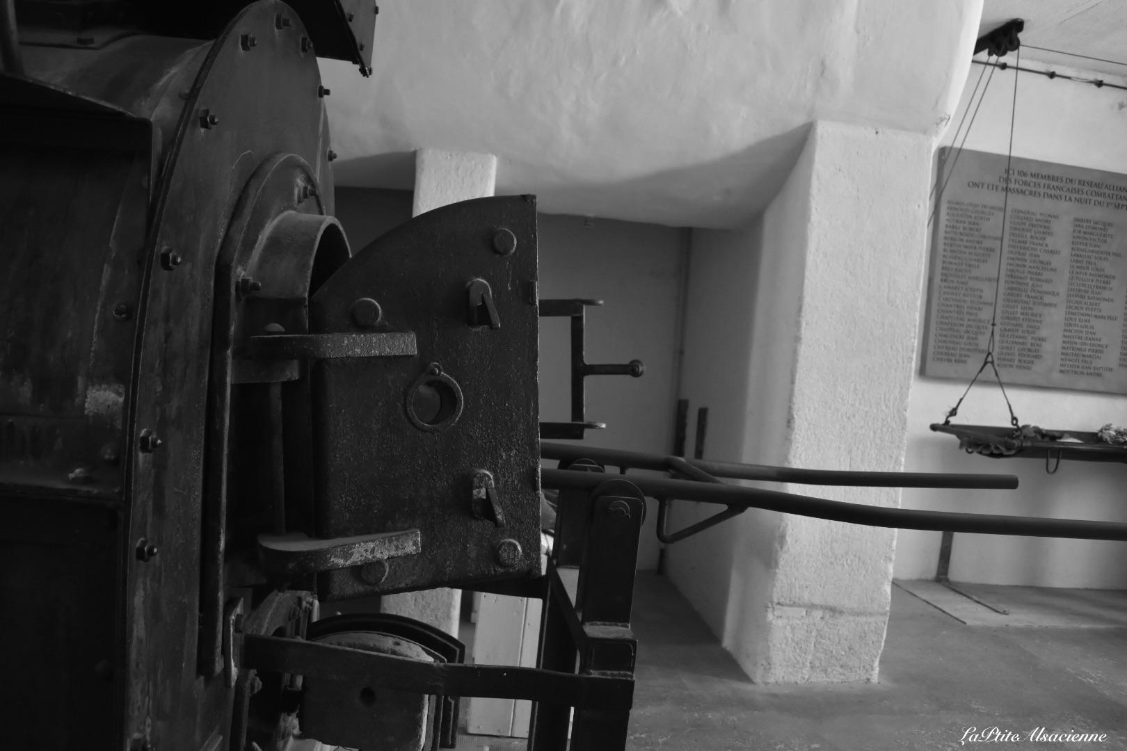 Four crématoire au Camp du Struthof - Photo de Cendrine Miesch dite LaPtiteAlsacienne