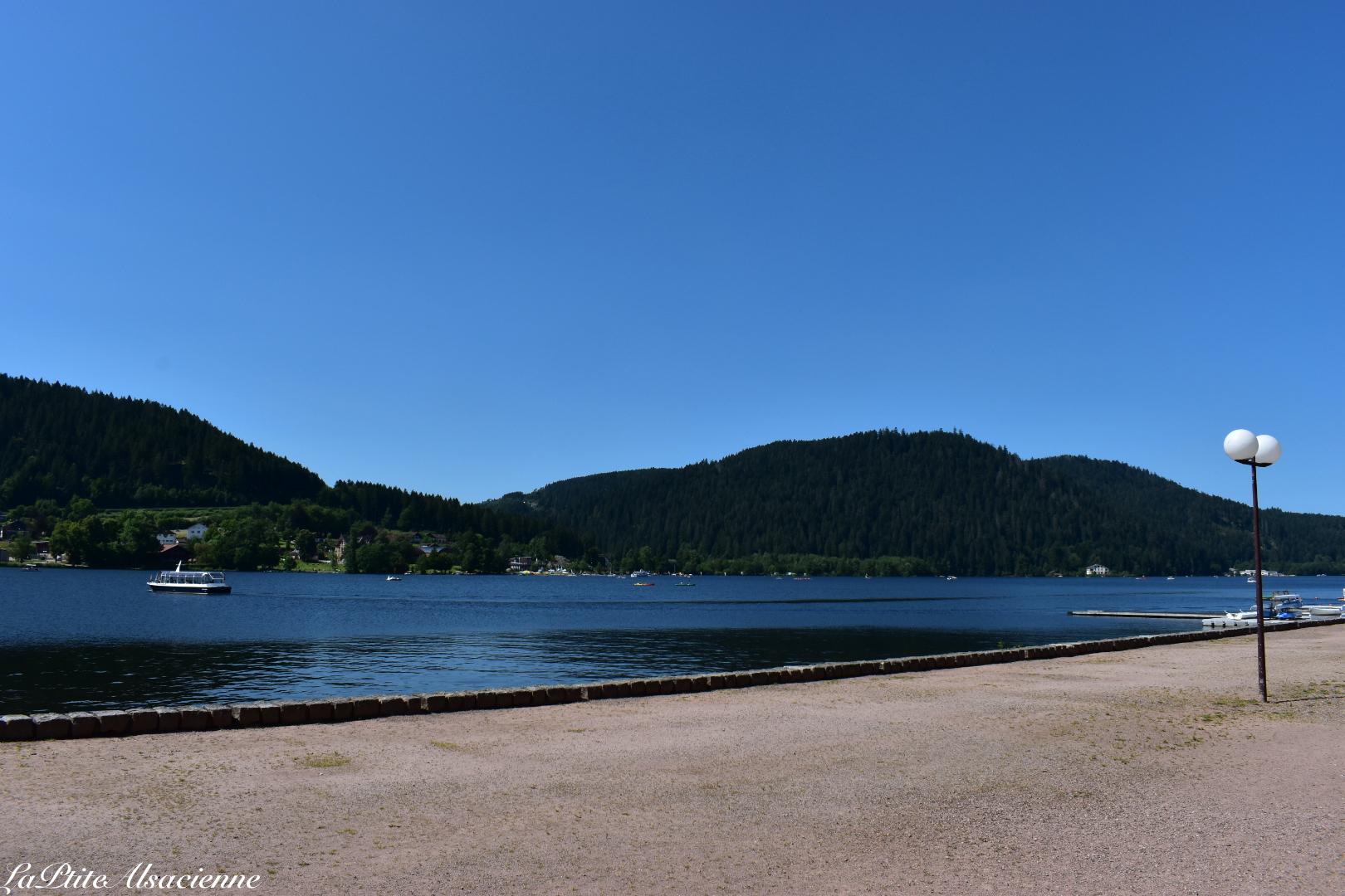 Lac de Gérardmer - Photo de Cendrine Miesch dite LaPtiteAlsacienne