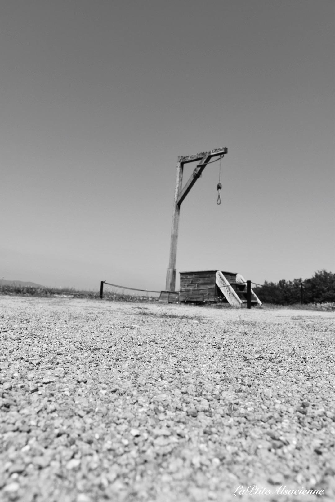 Potence au camp de travail du Struthof - Photo de Cendrine Miesch dite LaPtiteAlsacienne