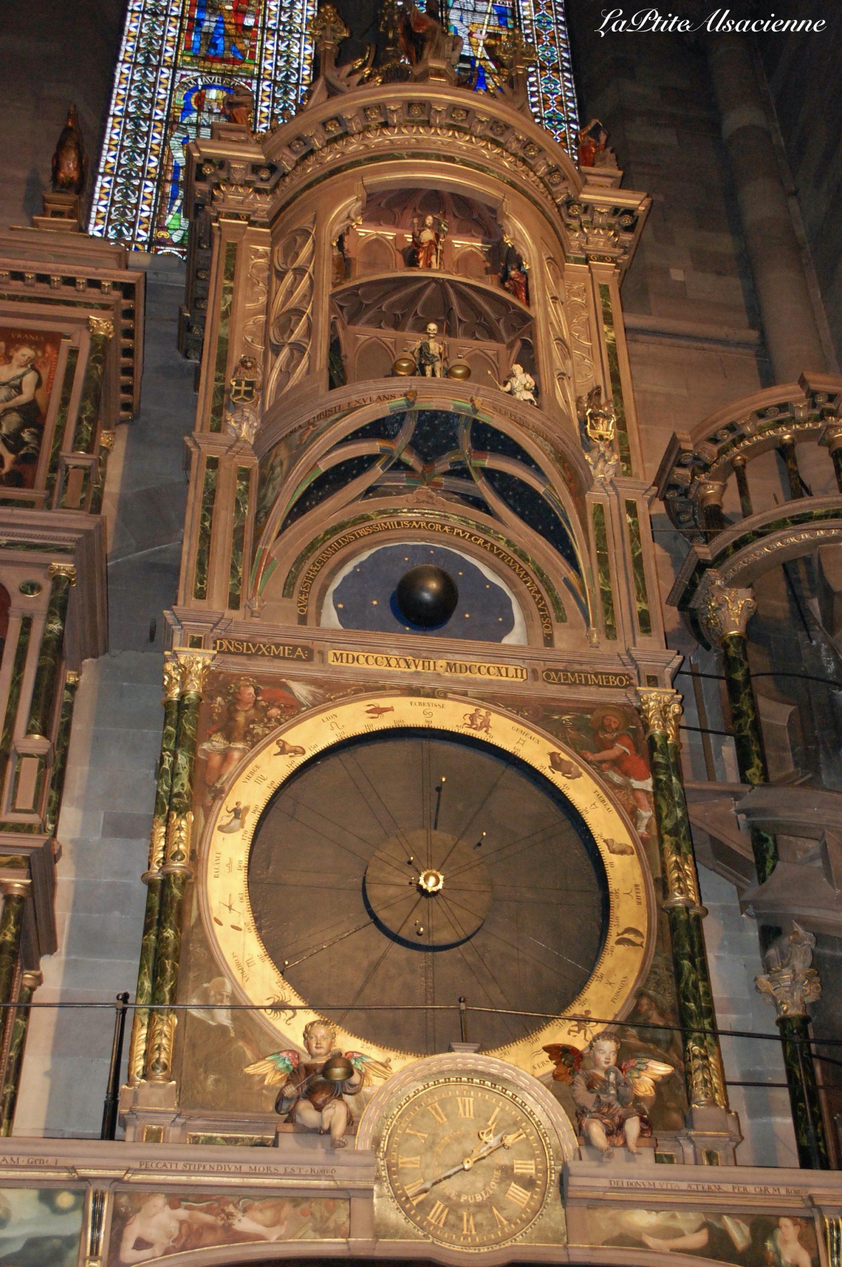 L'horloge astronomique présente à la Cathédrale de Strasbourg - Photo de Cendrine Miesch