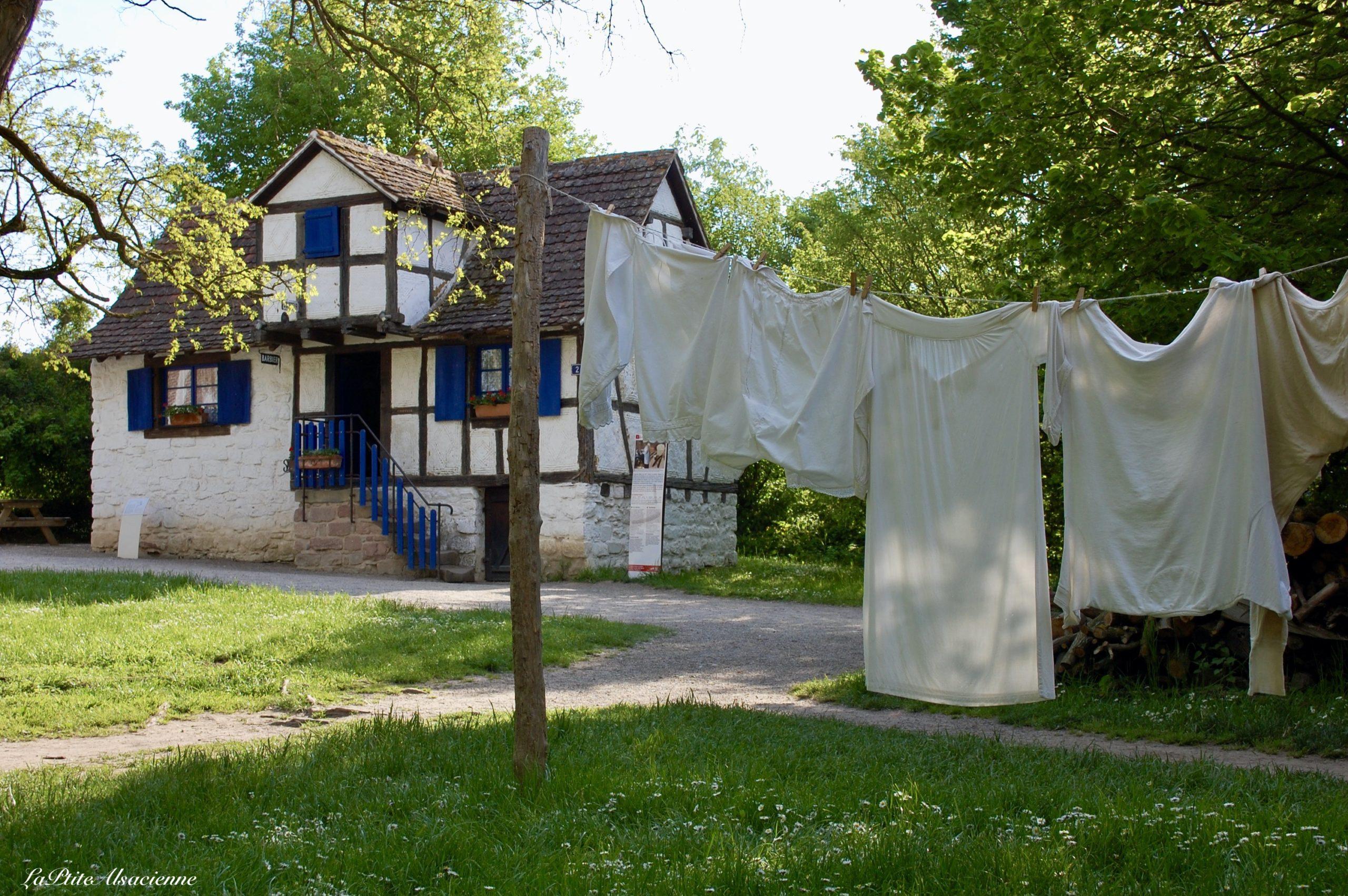 Ecomusée d'Alsace à Ungersheim - Maison du Barbier - Photo de Cendrine Miesch pour le blog de LaPtiteAlsacienne.com