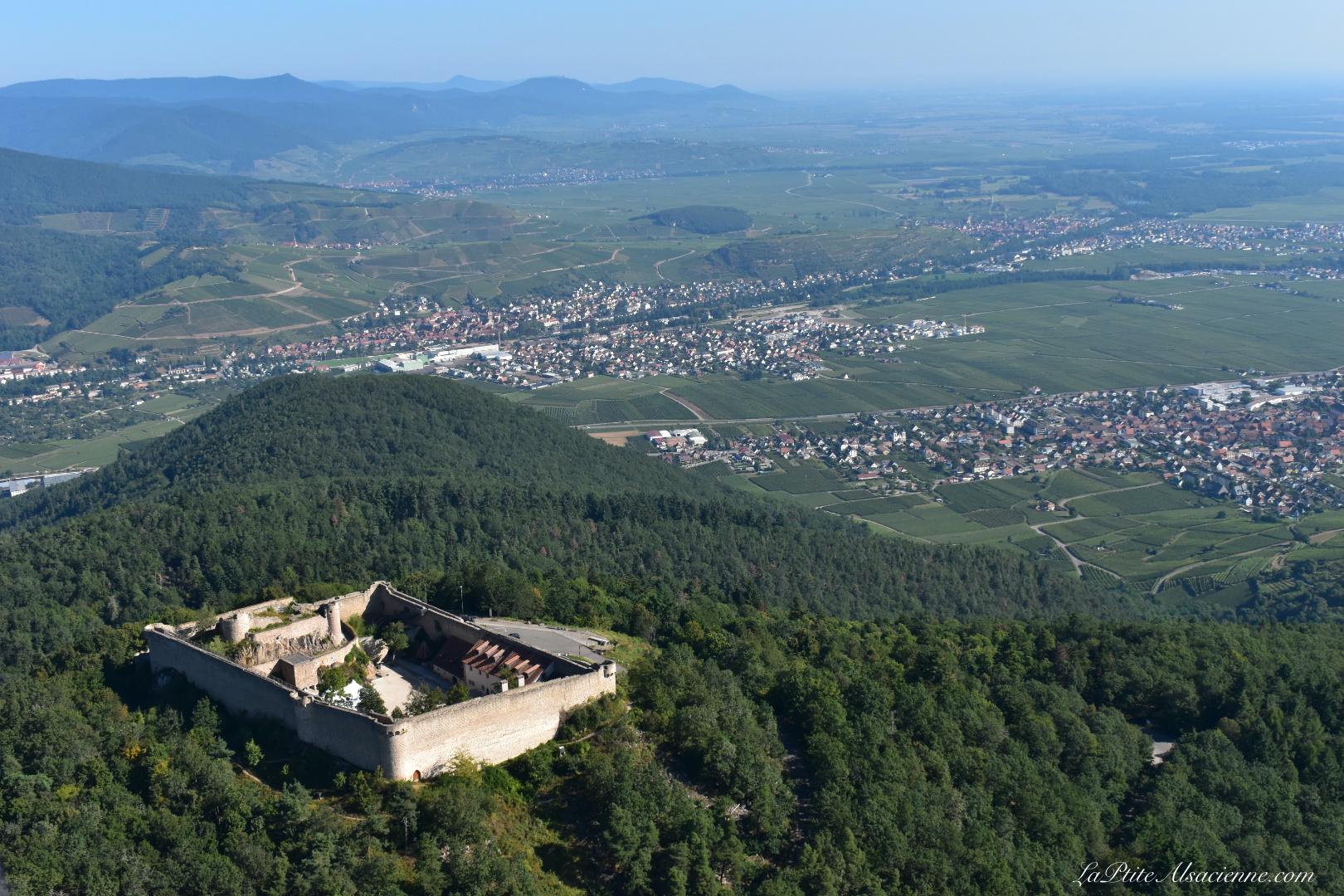 Château du Hohlandsbourg non loin de Colmar. Photo de Cendrine Miesch dite LaPtiteAlsacienne