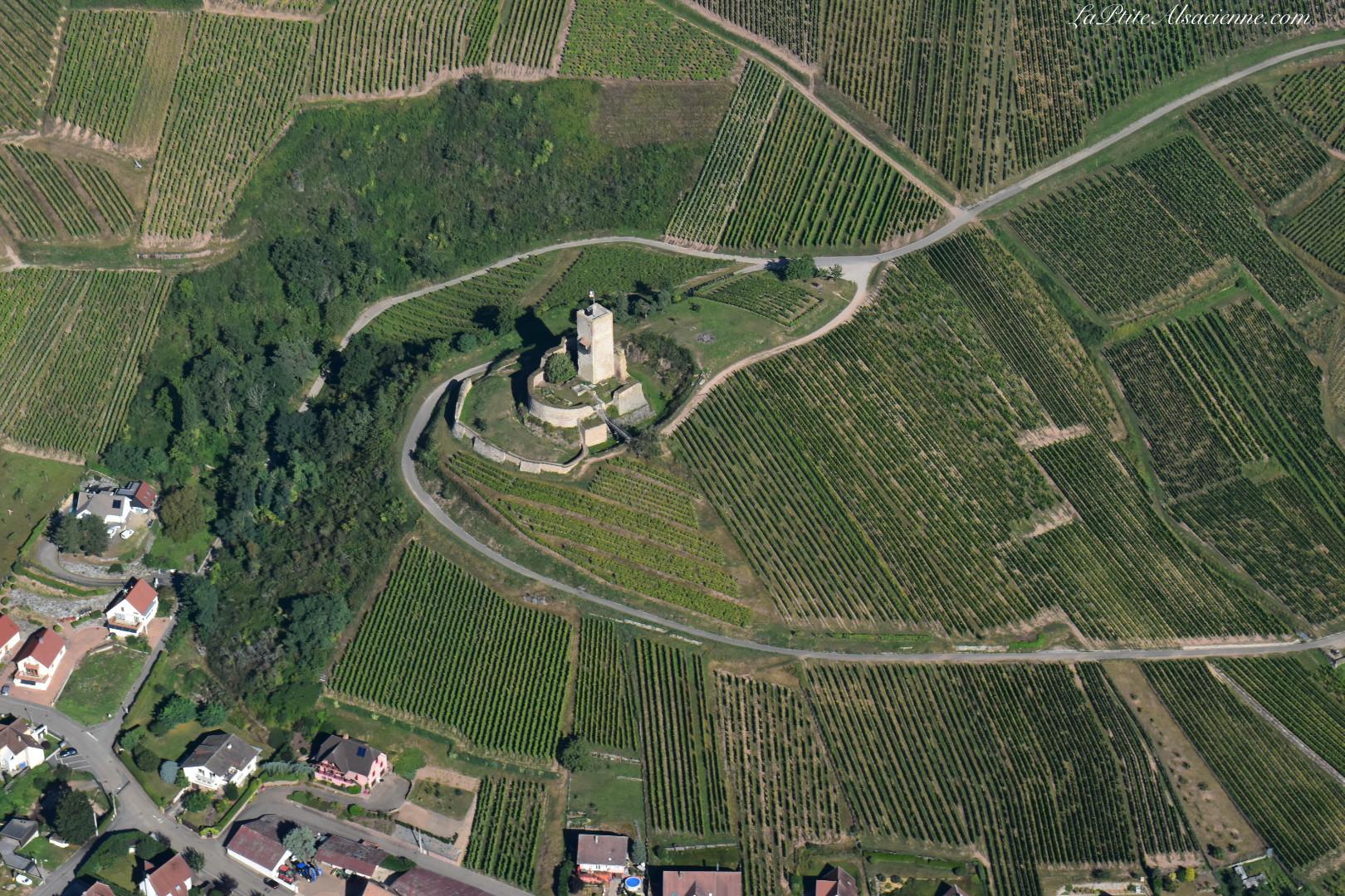 Château du Wineck à Katzenthal. Photo de Cendrine Miesch dite LaPtiteAlsacienne