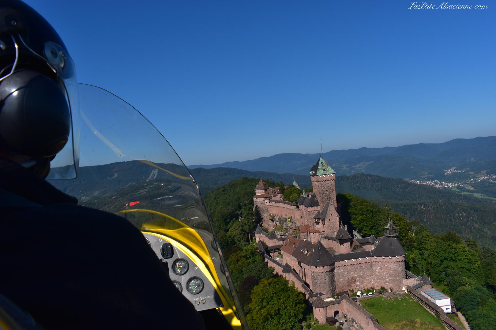 L'Alsace vue du ciel en ULM avec Ciel Destination Découverte. Photo de Cendrine Miesch dite LaPtiteAlsacienne